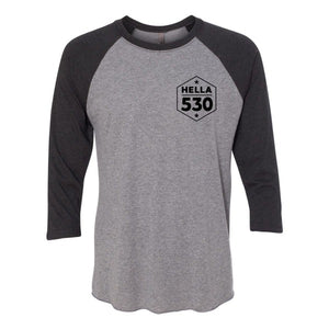 Hella 530 Baseball Tee Unisex - Hella Shirt Co.