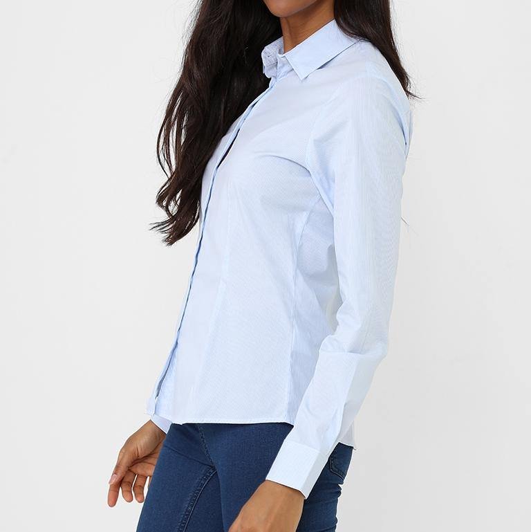 Fine Lines Shirt - Flamour.ro