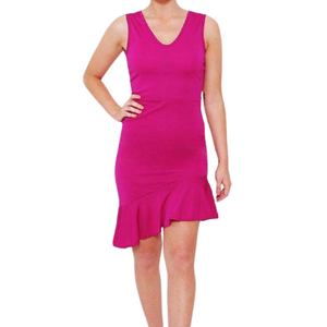 Fuchsia Dress - Flamour.ro