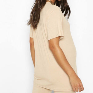 Oversized Nude T-Shirt