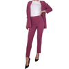 Plum Blazer & Pants SET