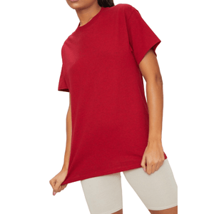 Red Oversized T-Shirt