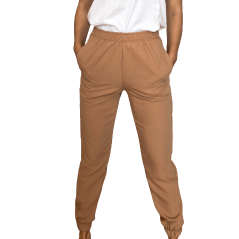 Camel Pants - Flamour.ro