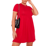 Red Babydoll Dress