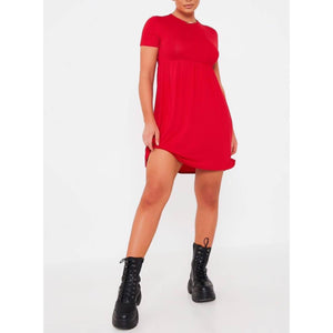 Black Babydoll Dress - Flamour.ro