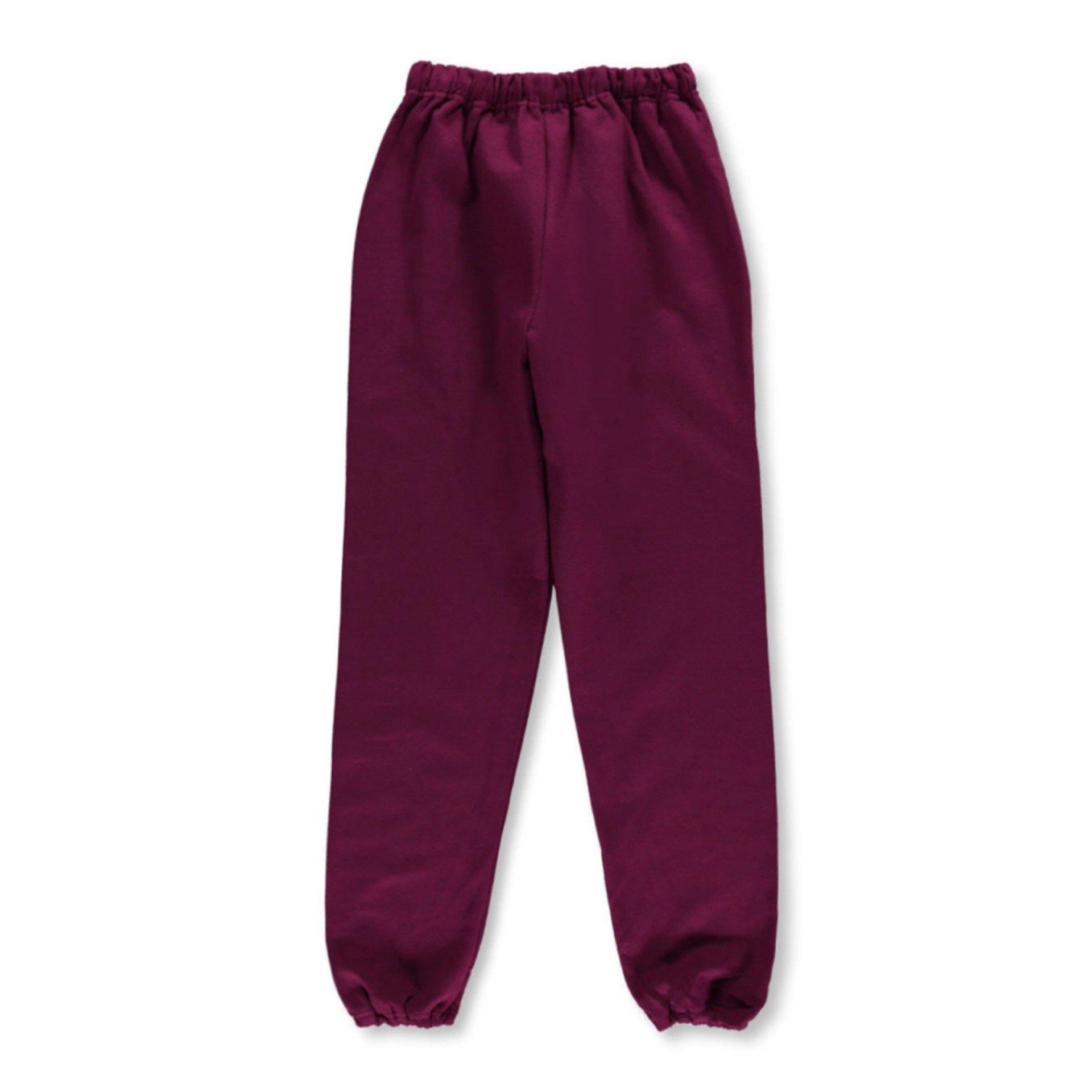 Burgundy Joggers - Flamour.ro