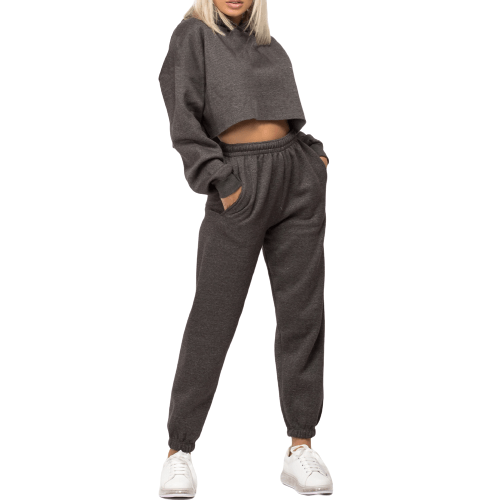 Soft Grey Tracksuit - Flamour.ro