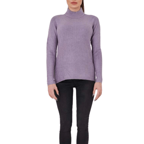Lilla Highneck Pullover - Flamour.ro
