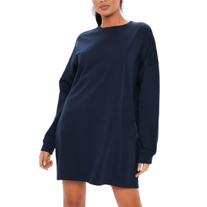 Navy Sweat Dress