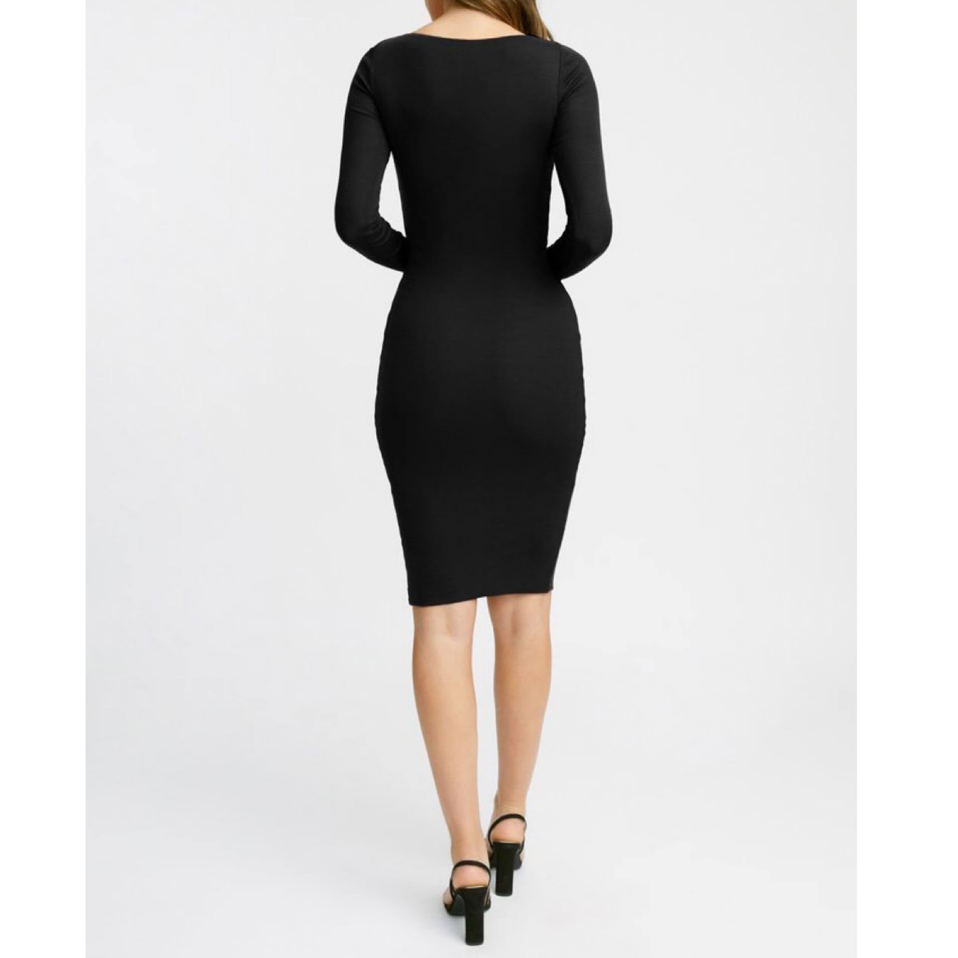Cotton Bodycon Dress