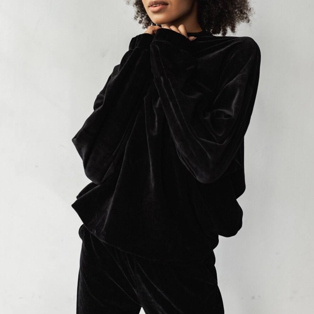 Comfy Velvet Tracksuit - Flamour.ro