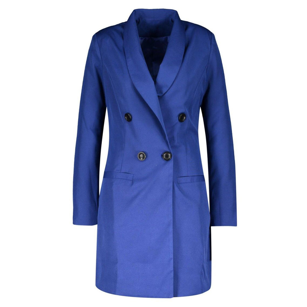 Royal Blue Blazer Dress