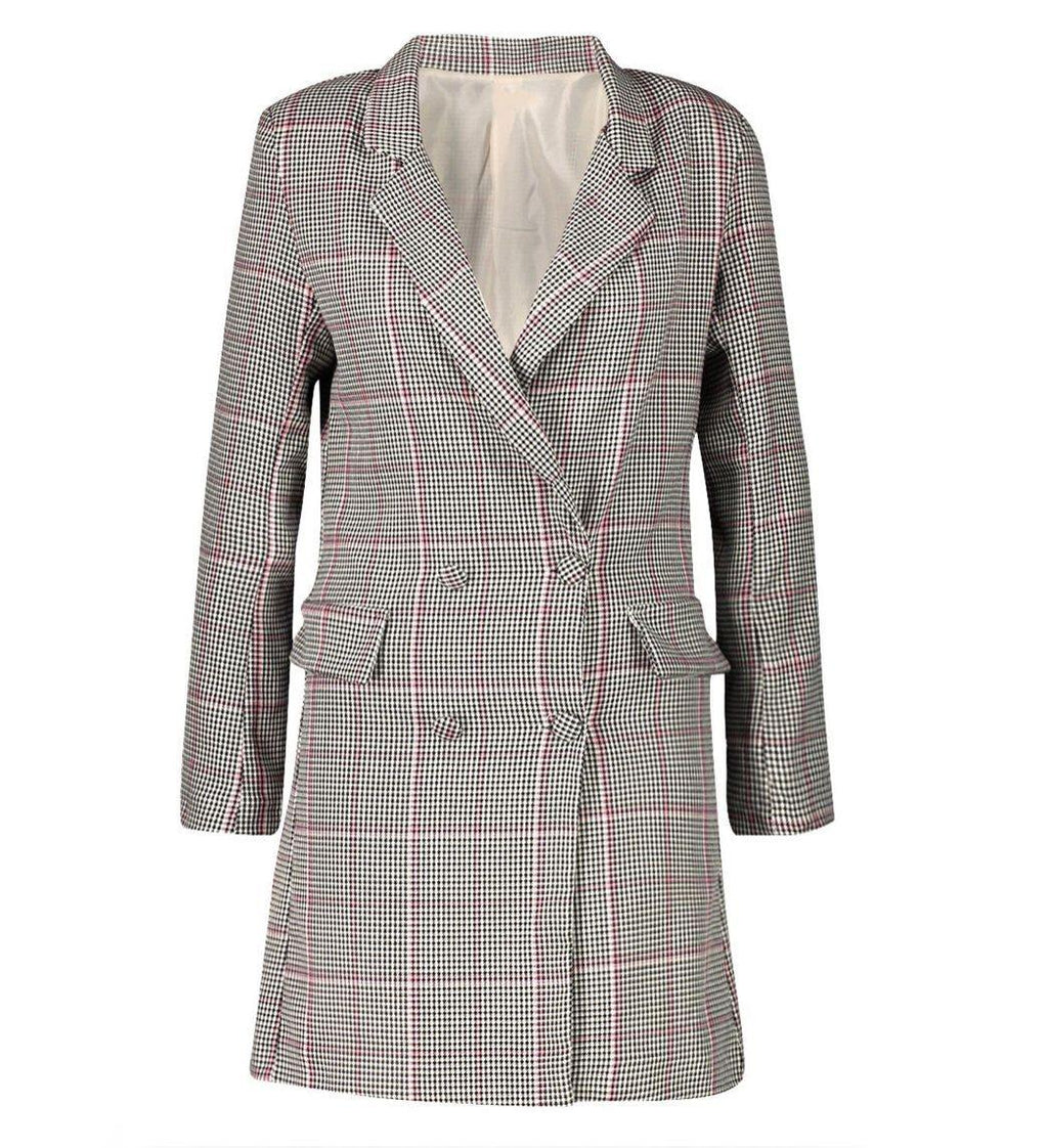 Mrs. Grey Blazer Dress - Flamour.ro