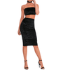 Velvet Skirt & Top SET - Flamour.ro