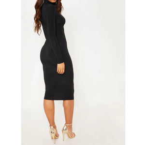 Off Shoulder Shiny Dress - Flamour.ro