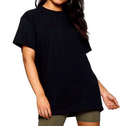 Black Oversized T-Shirt