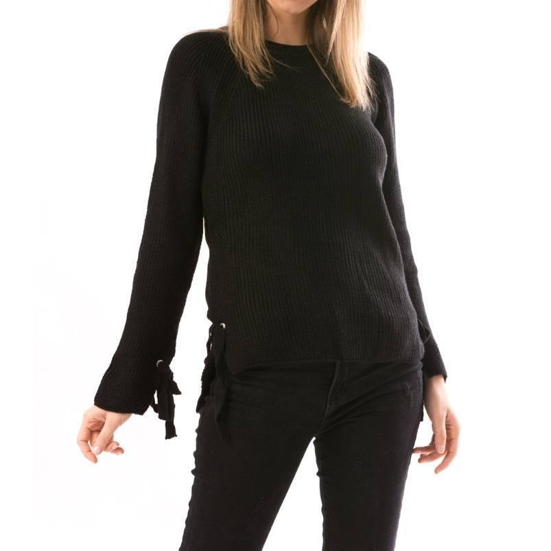 Black Pullover - Flamour.ro