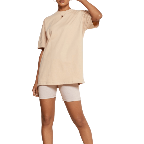 Nude Oversized T-Shirt