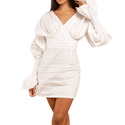 Xonia Cotton Dress - Flamour.ro