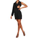 Black Blazer Dress - Flamour.ro