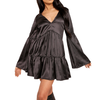 Satin Shine Dress - Flamour.ro