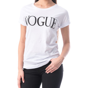 Tricou Alb Vogue