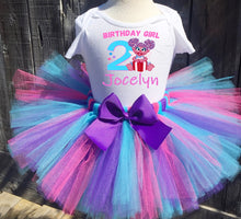 Load image into Gallery viewer, Abby Cadabby Birthday Tutu Outfit-Sesame Street