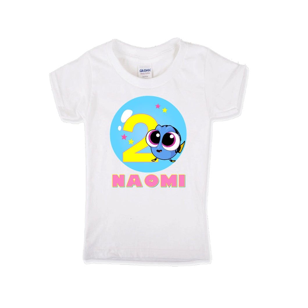 Baby Dory Birthday Shirt Girls-Pixar