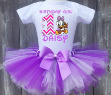 Load image into Gallery viewer, Baby Daisy Duck Birthday Tutu Outfit