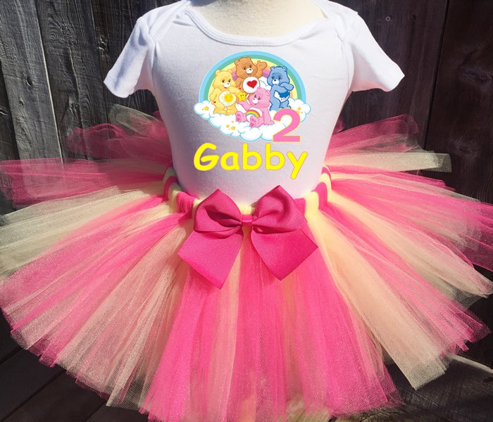 Group Carebears Birthday Tutu Outfit-Dress