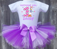 Load image into Gallery viewer, Daisy Duck Customized Birthday Tutu Outfit-Dress