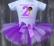 Load image into Gallery viewer, Doc Mcstuffins Customized Birthday Tutu Outfit