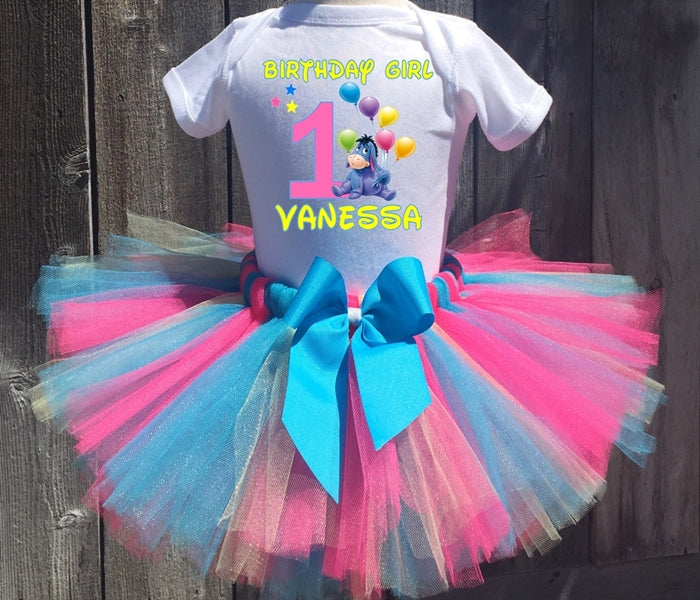 Eeyore Customized Birthday Tutu Outfit