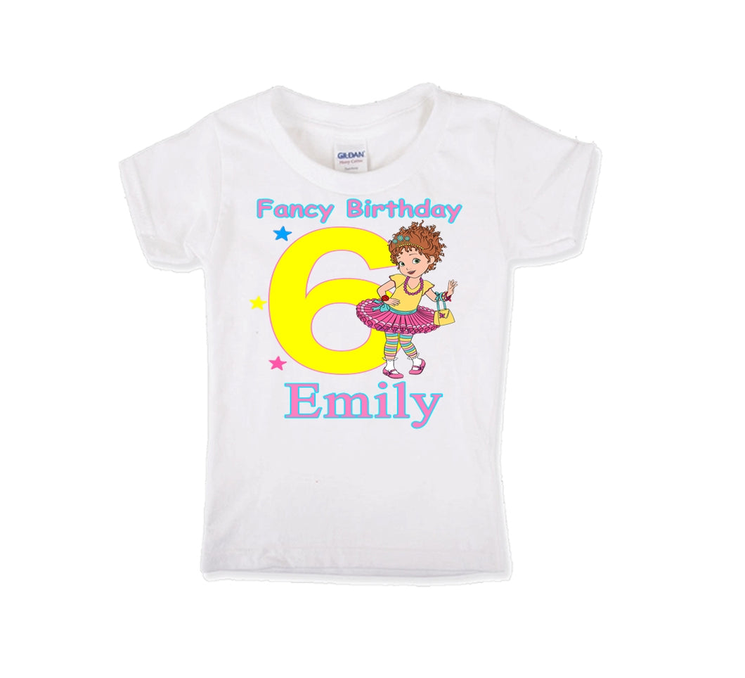 Fancy Nancy  Birthday Shirt Girls