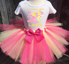 Load image into Gallery viewer, My Little Pony Fluttershy  Birthday Tutu Outfit-Dress