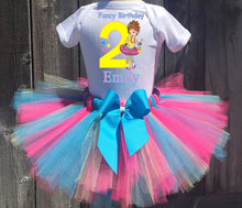 Load image into Gallery viewer, Fancy Nancy Customized Birthday Tutu Outfit