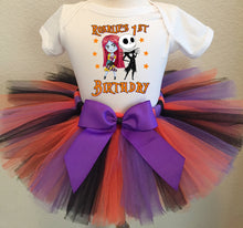 Load image into Gallery viewer, Nightmare Before Christmas  Birthday Tutu Outfit-Dress
