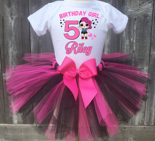 LOL Surprise Rocker Birthday Tutu Outfit-Dress