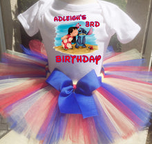 Load image into Gallery viewer, Lilo And Stitch  Birthday Tutu Outfit-Dress