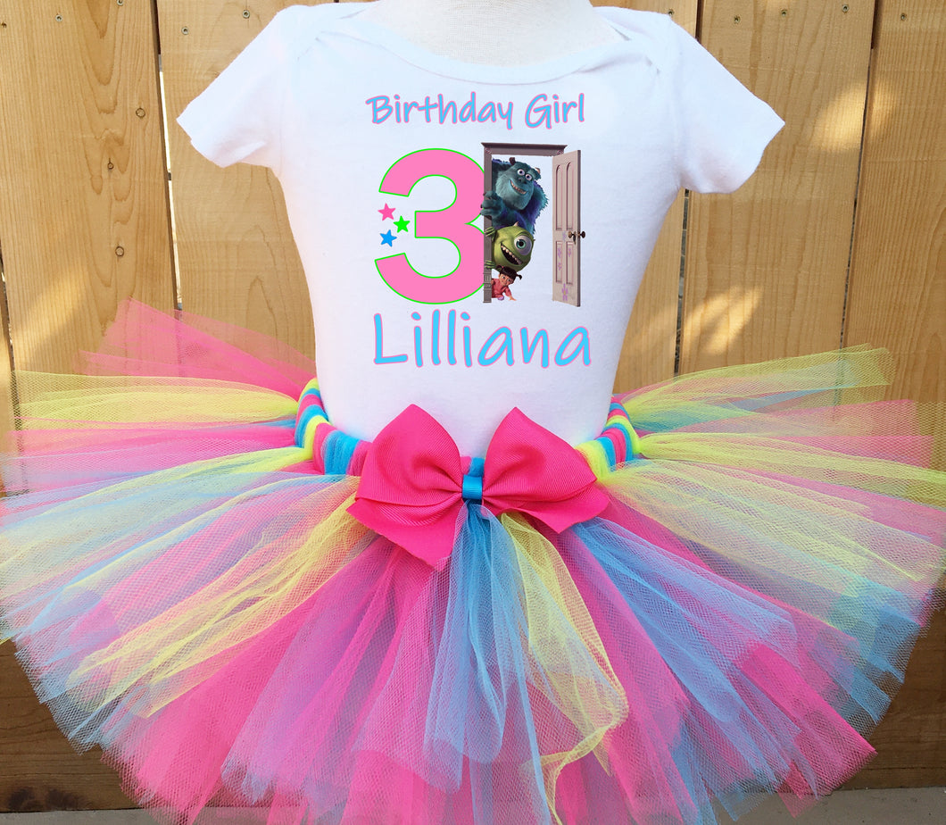 Monsters Inc Customized Birthday Tutu Outfit-Pixar