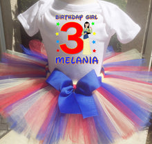 Load image into Gallery viewer, Mulan Customized Birthday Tutu Outfit-Disney Princess