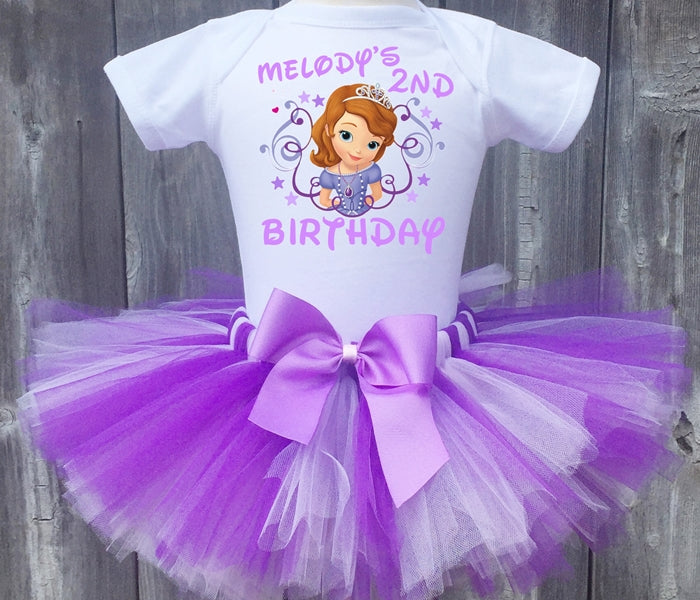 Princess Sofia Customized Birthday Tutu Outfit