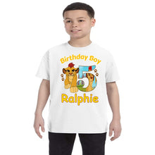 Load image into Gallery viewer, Lion Guard Birthday Shirt Boys
