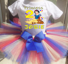 Load image into Gallery viewer, Snow White  Birthday Tutu Outfit-Disney Princess