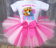 Load image into Gallery viewer, Winnie the Pooh Birthday Outfit for Girl