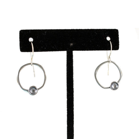 Two-Toned Square Dangles with Tiny Cup