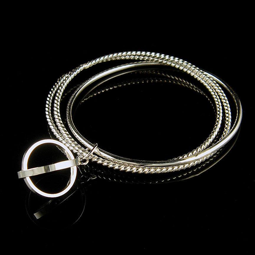 Absolute Cycle Charm Bangle