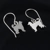 Afghan Hound Dangle Earrings