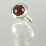 Red Agate Ring - Size 9