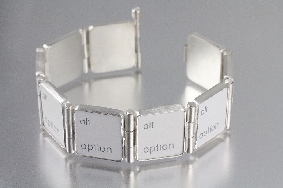 Alternative Option Key Hinged Bracelet